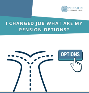 I changed jobs what are my pension options