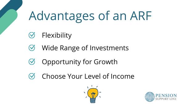 Advantages of ARF