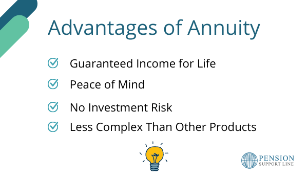 Advantages of Annuity