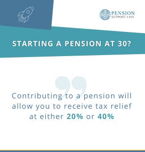 Starting a pension at 30